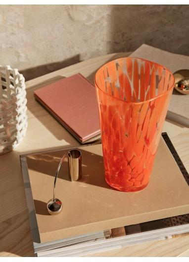 Casca Vase - Poppy red Ferm Living