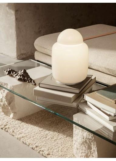 Lámpara de mesa Bell - Blanco Ferm Living