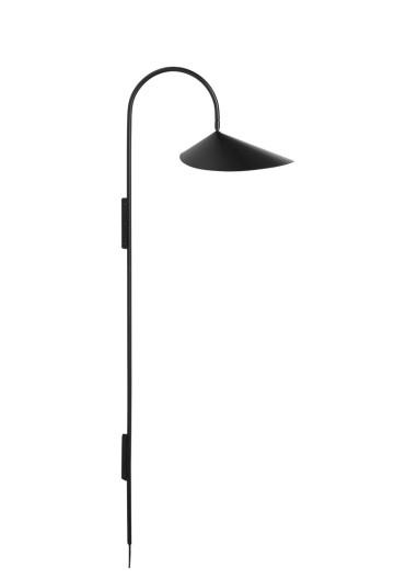 Arum Tall Wall Lamp - Black Ferm Living