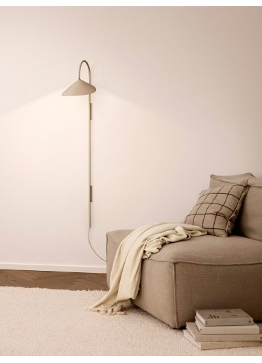 Arum Tall Wall Lamp - Cashmere Ferm Living
