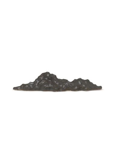Berg Ceramic Sculpture - Low - Black Ferm Living