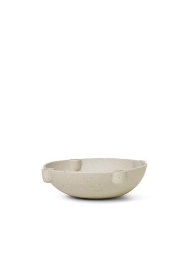 Bowl Candle Holder - Ceramic - Large Ferm Living