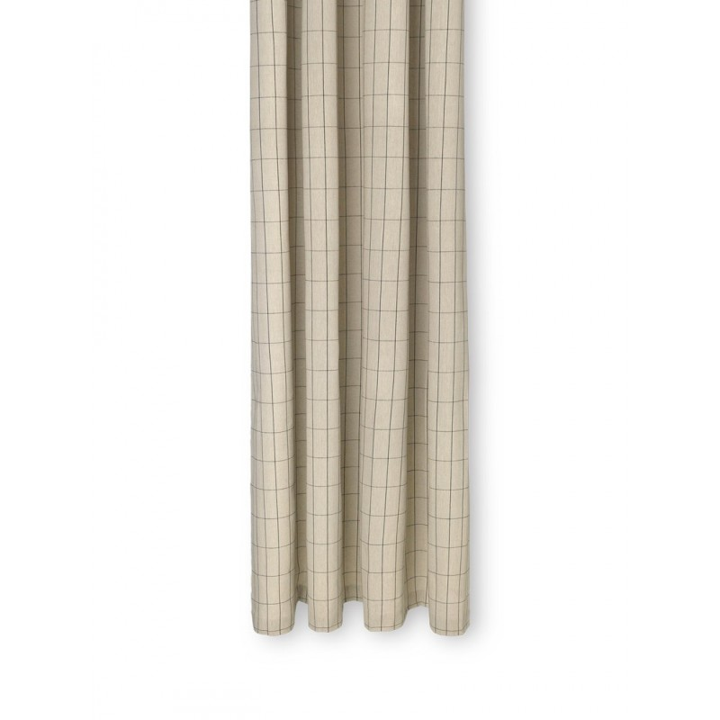 Chambray Shower Curtain Grid - Ferm Living