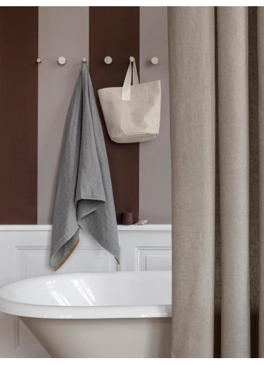 Chambray Shower Curtain - Sand Ferm Living