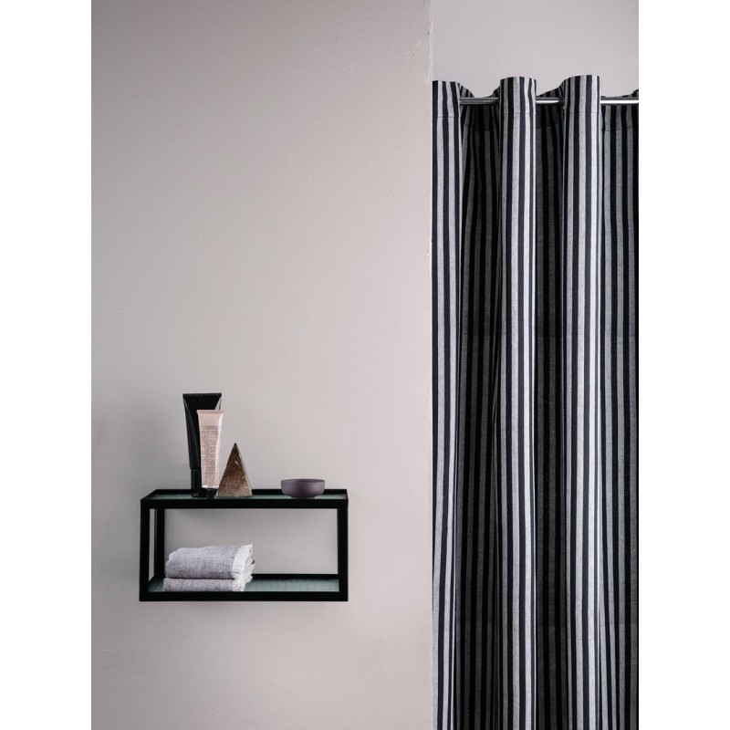 Chambray Shower Curtain - Striped Ferm Living