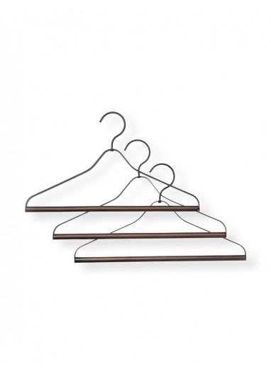 3u Coat Hanger Black Ferm Living