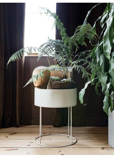 Plant Box - Light Grey - Round Ferm Living