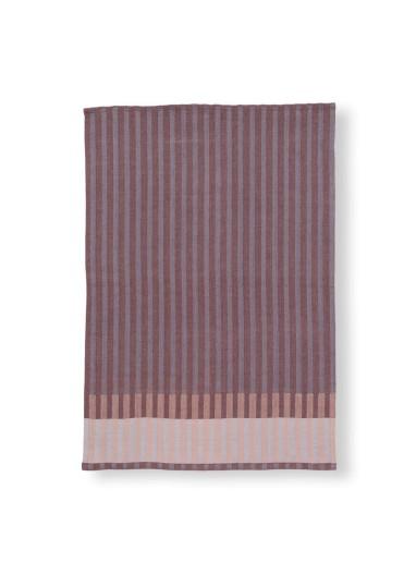 Grain Jacquard Tea Towel - Bordeaux Ferm Living