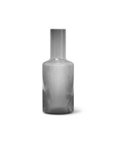 Ripple Carafe - Smoked Grey Ferm Living