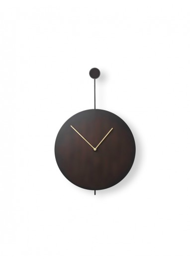 Reloj Pared Trace Negro / Latón Ferm Living
