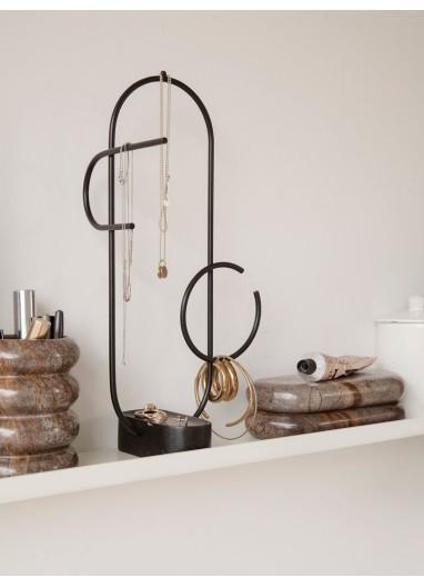 Obu Jewellery Stand Black Ferm Living