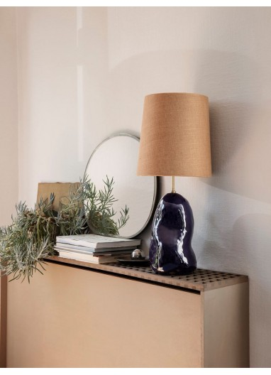Hebe Lamp Shade Medium - Curry Ferm Living