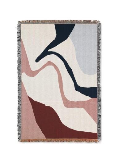 Vista Blanket Off-White Ferm Living