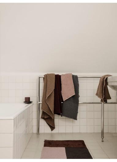 Pile Bathroom Mat Brown Ferm Living