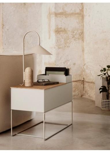 Plant Box Pot Large - Light Grey Ferm Living