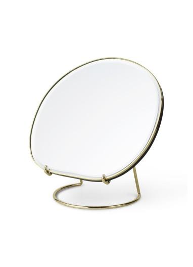 Pond Table Mirror Brass Ferm Living