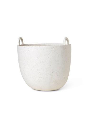 Speckle Pot Large Off-White Ferm Living