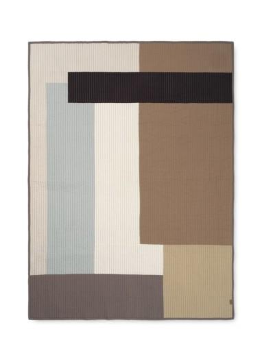 Shay Patchwork Quilt Blanket Desert Ferm Living
