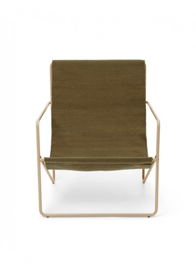 Desert Lounge Chair Cashmere/Olive Ferm Living