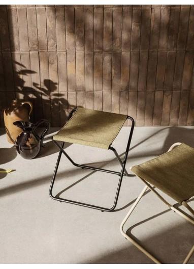 Taburete Desert Negro / Olive Ferm Living