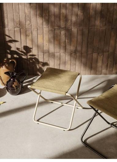 Desert Stool Cashmere/Olive Ferm Living