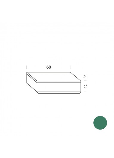 Cajón blanco 60cm Tria 36 Mobles114