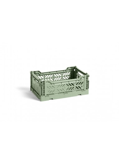 Caja plegable S Dusty Green HAY