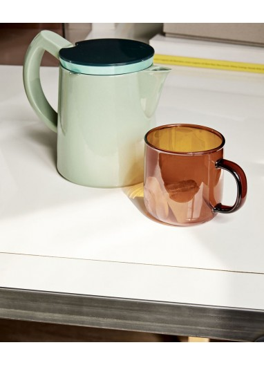 Borosilicate Mug Amber HAY