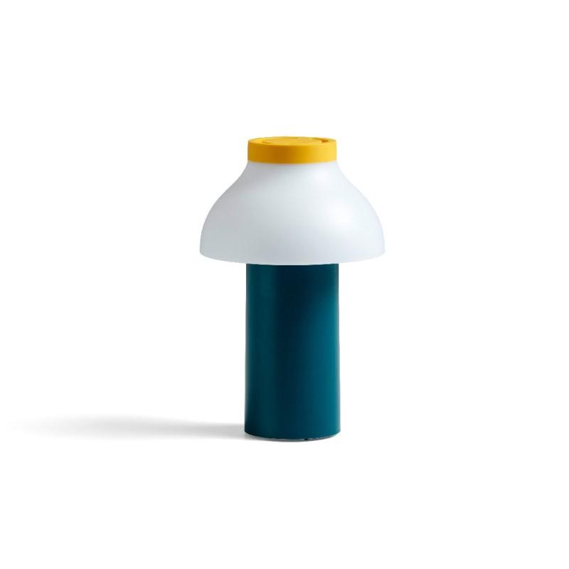Lámpara de mesa PC Portable Ocean Green HAY