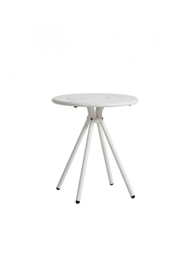 Ray Round Café Table WOUD