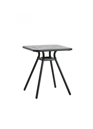 Ray Square Café Table WOUD