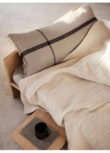 Calm Cushion Camel / Black Ferm Living