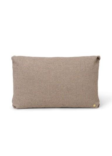 Clean Cushion Boucle Sand Ferm Living