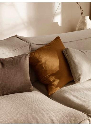 Clean Cushion Chocolate Ferm Living