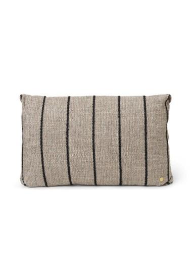 Clean Cushion Pasadena Sand/Black Ferm Living
