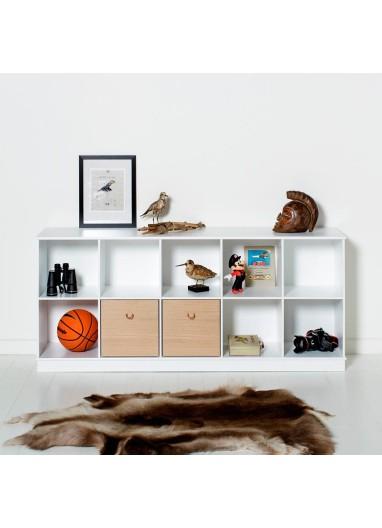 Estanteria 5x2 suelo de Oliver Furniture
