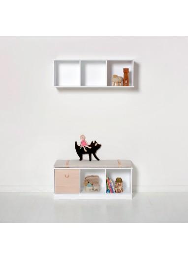 Estanteria 3x1 suelo de Oliver Furniture