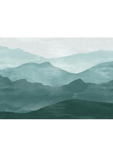 Mural de papel Pintado Infantil Vinilico Montañas